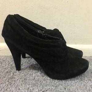 4 inch black heels